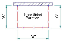 Three Sided Partition
